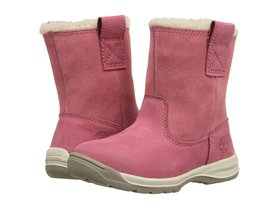 Timberland Kids Timber Tykes Lined Pull-On (Toddler/Little Kid) (Pink) Girls Shoes
