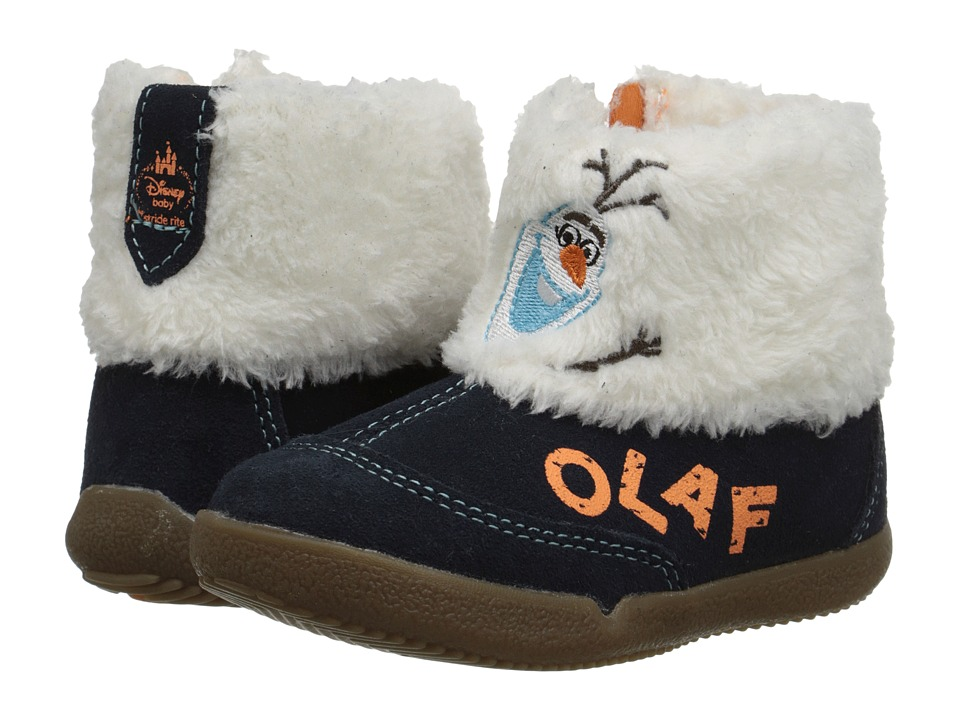 Stride Rite Disney Frozen Olaf Boot (Toddler) (Navy/White) Boys Shoes