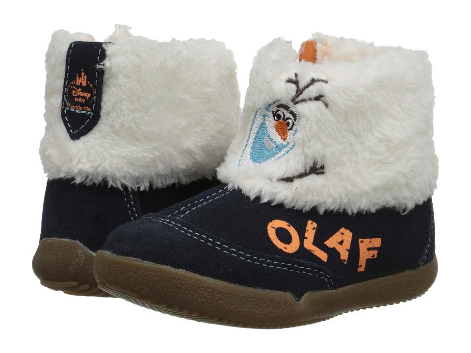 Stride Rite - Disney Frozen Olaf Boot (Toddler) (Navy/White) Boys Shoes