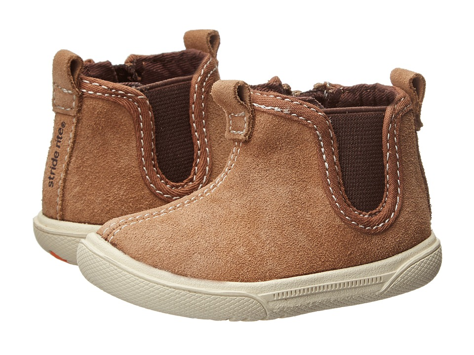 Stride Rite - Lil Tabor (Infant) (Brown) Boys Shoes