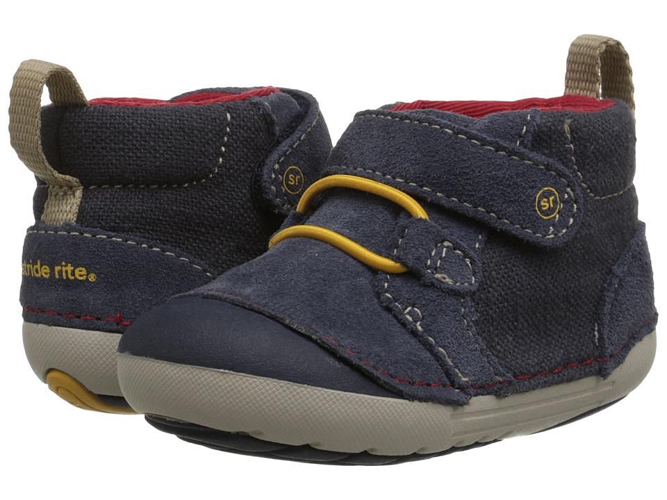 Stride Rite - SM Leighton (Infant/Toddler) (Navy) Boys Shoes
