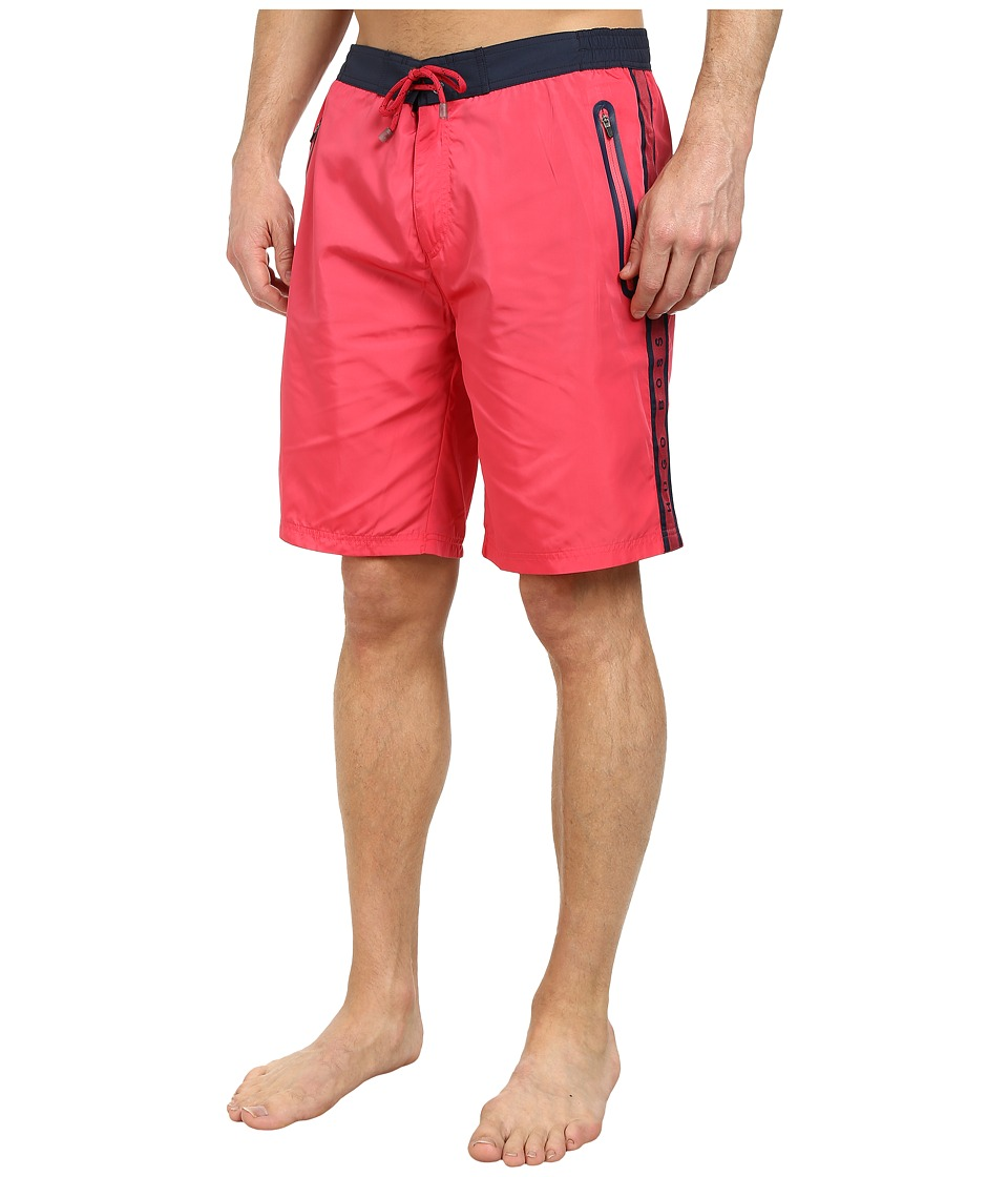 BOSS Hugo Boss - Alligatorfish 101827 (Dark Pink) Men's Swimwear
