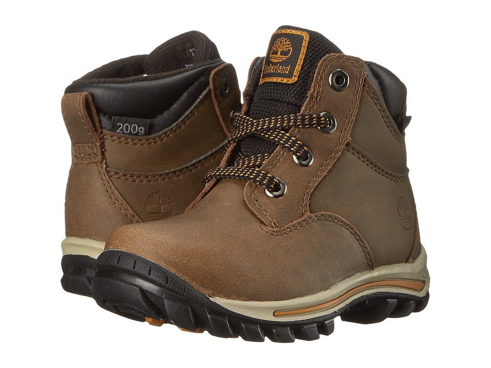 Timberland Kids - Chillberg Mid Waterproof Insulated (Toddler/Little Kid) (Light Brown) Kids Shoes