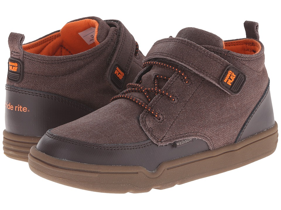Stride Rite - Made 2 Play Gannon (Little Kid) (Brown) Boys Shoes