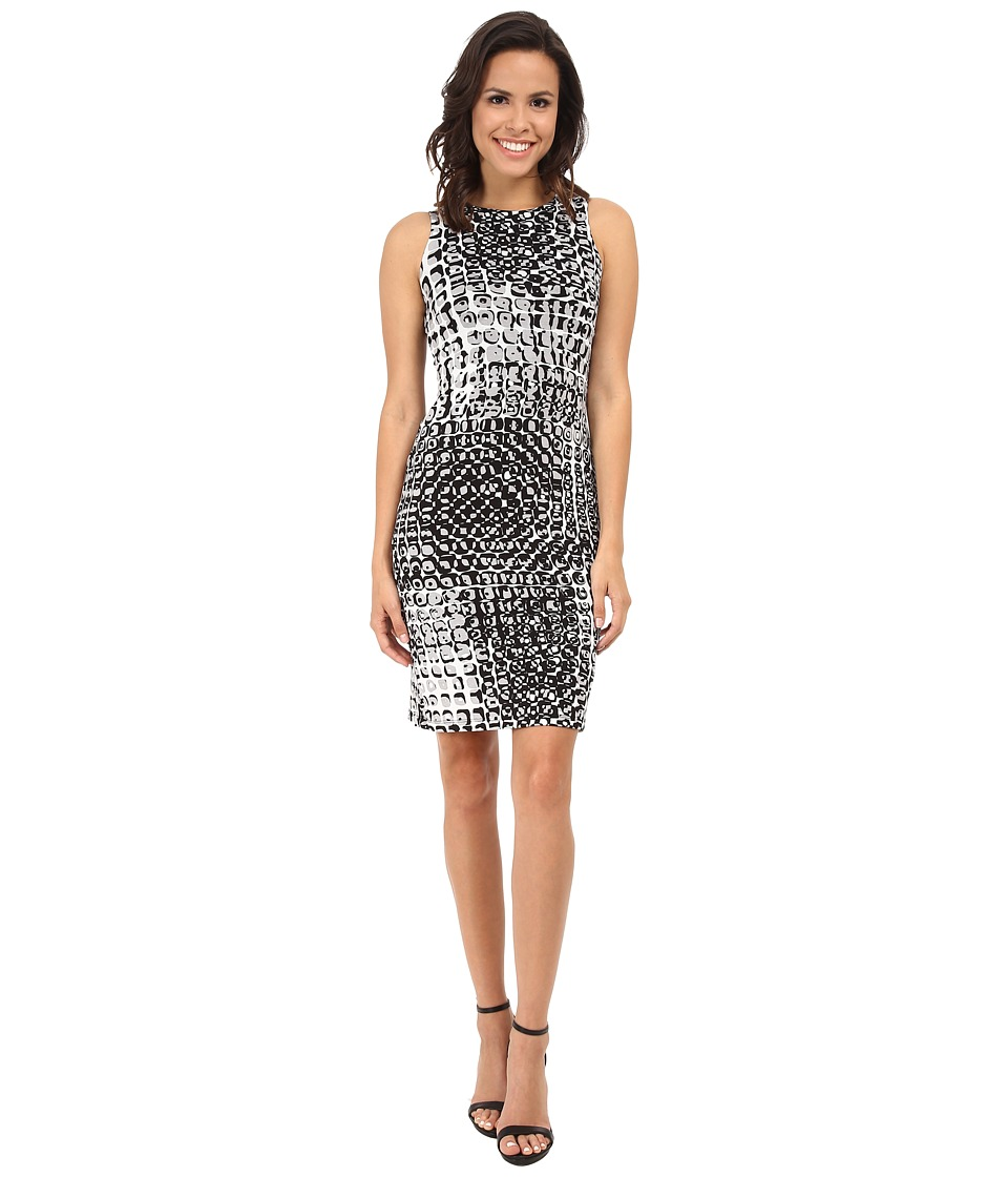 Karen Kane - Illusion Print Dress (Print) Women's Dress