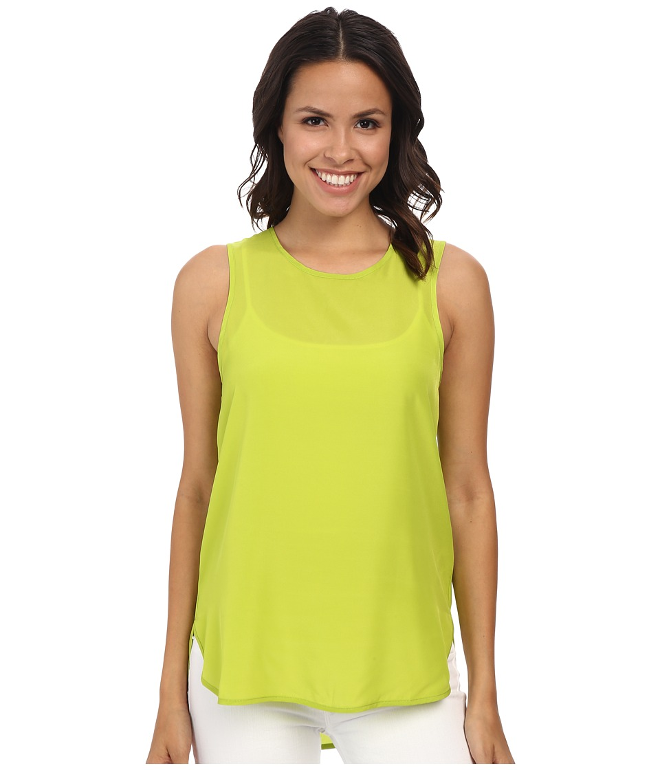 MICHAEL Michael Kors - Sleeveless Tank Top (Pear) Women's Sleeveless