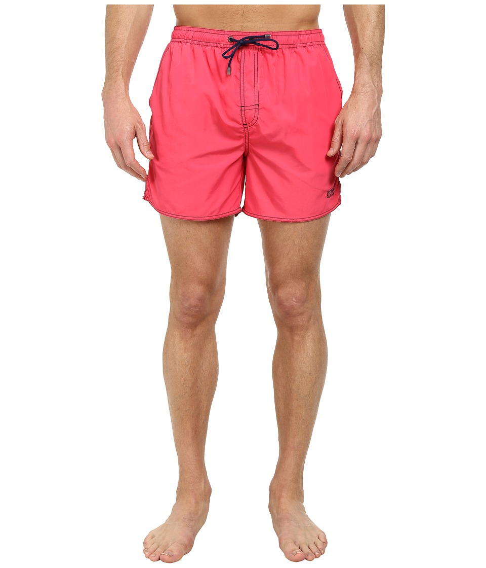 BOSS Hugo Boss - Lobster 10155742 01 Swim Shorts (Dark Pink) Men's Swimwear