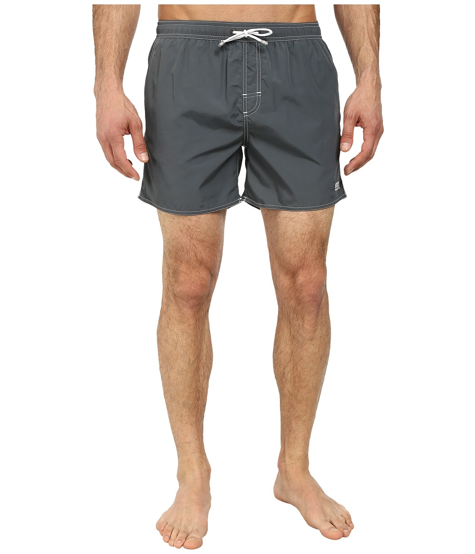 BOSS Hugo Boss - Lobster 10155742 01 Swim Shorts (Charcoal) Men's Swimwear