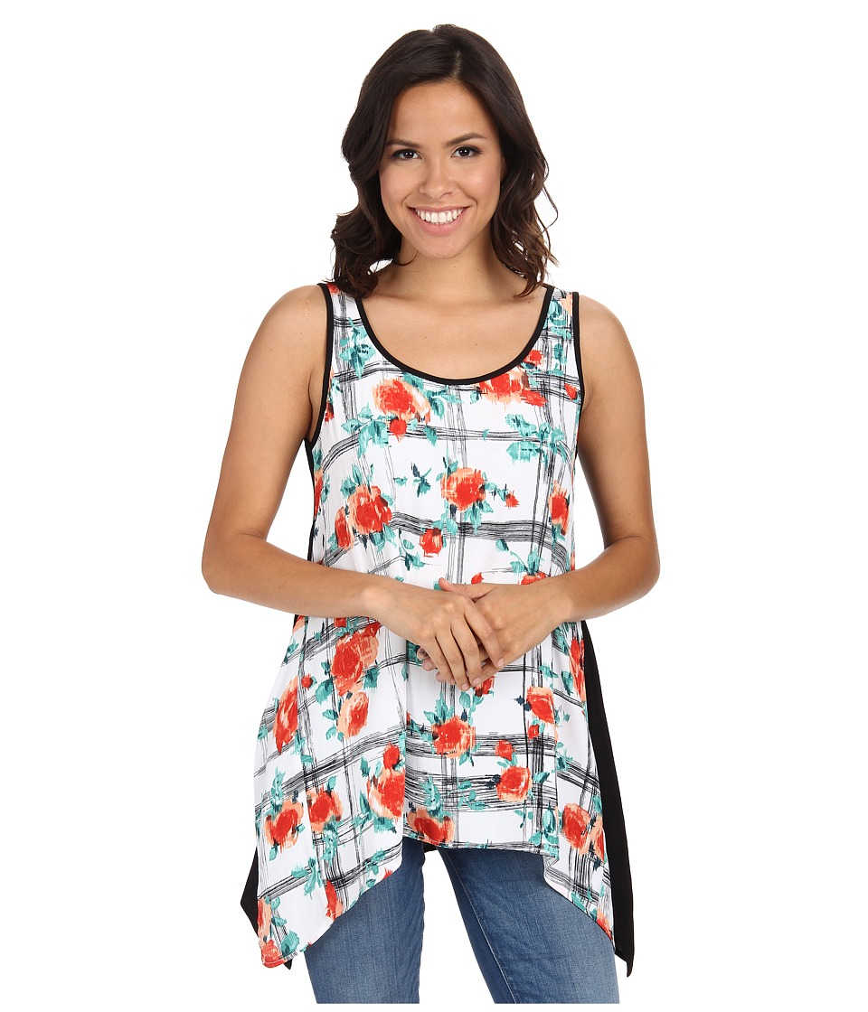 Karen Kane - Handkerchief Tank Top (Print) Women's Sleeveless