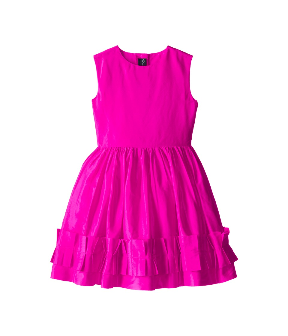 Oscar de la Renta Childrenswear - Taffeta Dress (Toddler/Little Kids/Big Kids) (Watermelon) Girl's Dress