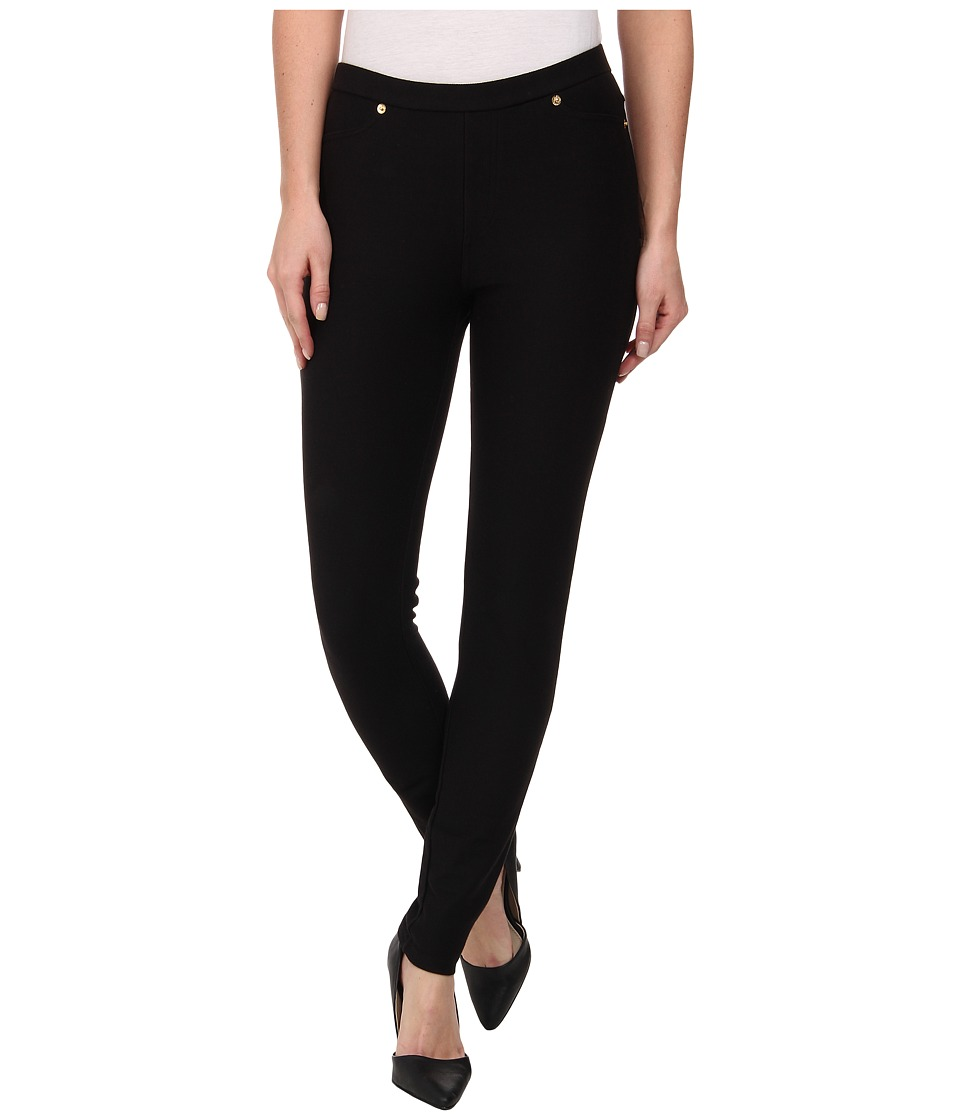 MICHAEL Michael Kors - Solid Pull On Leggings (Black) Women's Clothing