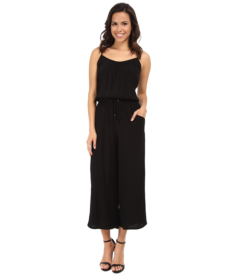 Karen Kane - Culottes Jumpsuit (Black) Women's Jumpsuit & Rompers One Piece