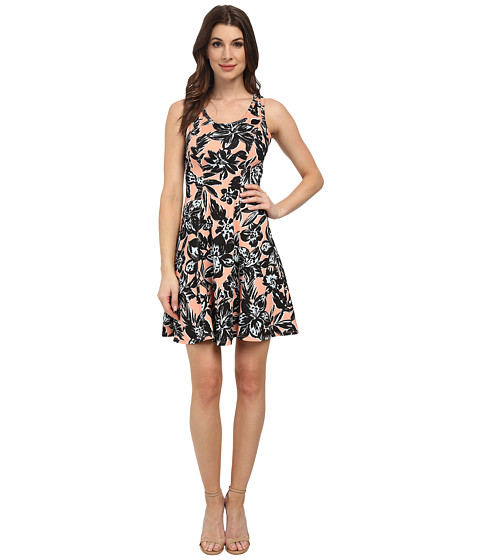 Karen Kane - Scuba Print Dress (Print) Women's Dress