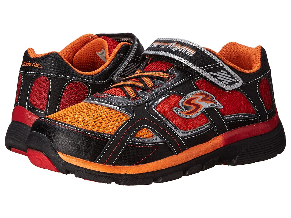 Stride Rite - Racer Lights Lightning (Little Kid) (Orange/Red) Boys Shoes