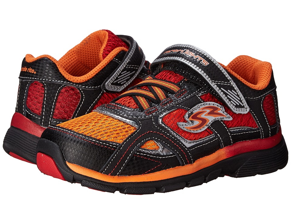 Stride Rite - Racer Lights Lightning (Toddler/Little Kid) (Orange/Red) Boys Shoes