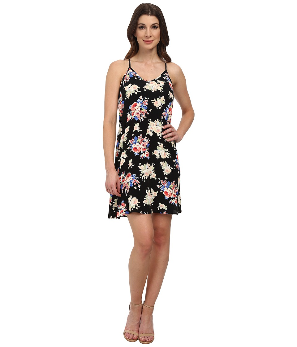 Karen Kane - Rose Print T-Back Dress (Print) Women's Dress