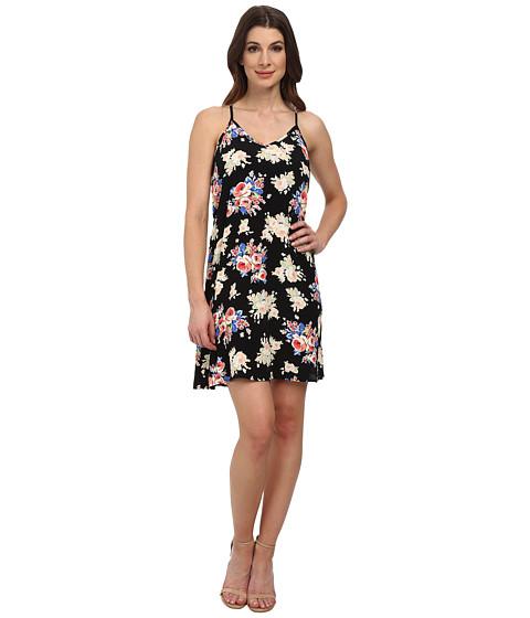Karen Kane - Rose Print T-Back Dress (Print) Women's Dress