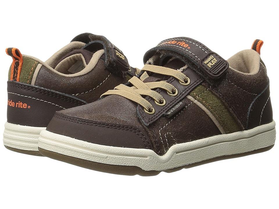 Stride Rite - Made 2 Play Kaleb (Toddler/Little Kid) (Brown) Boy's Shoes