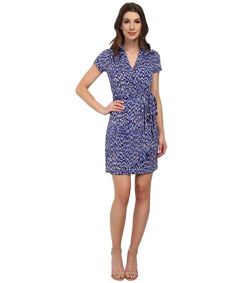 Karen Kane - Reflection Print Faux-Wrap Dress (Print) Women's Dress