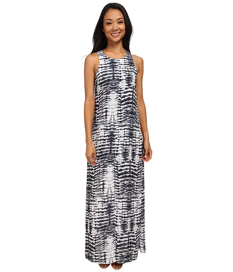 Karen Kane - Woven Tie-Dye Maxi Dress (Print) Women's Dress