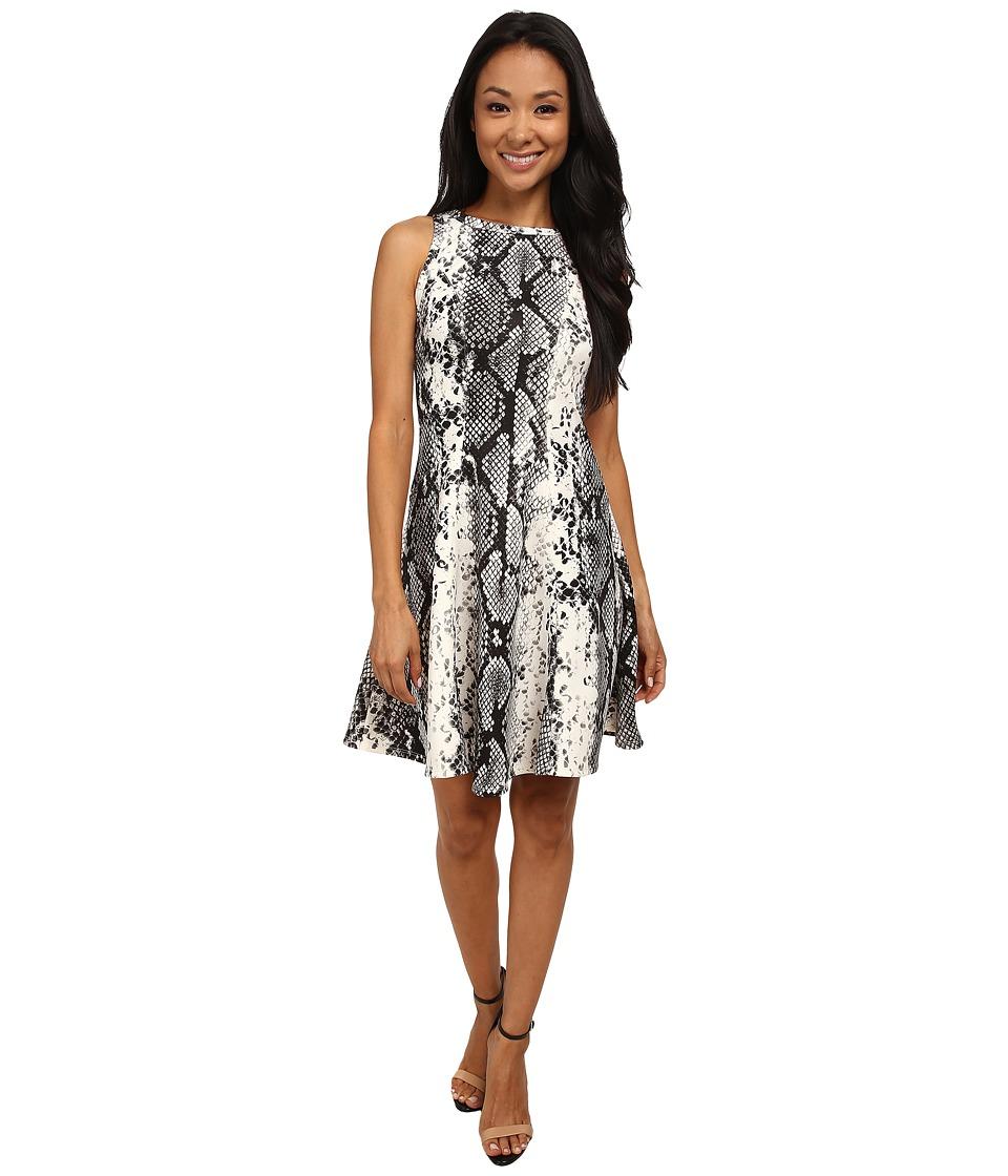Karen Kane - Snake Print Scuba Dress (Print) Women's Dress