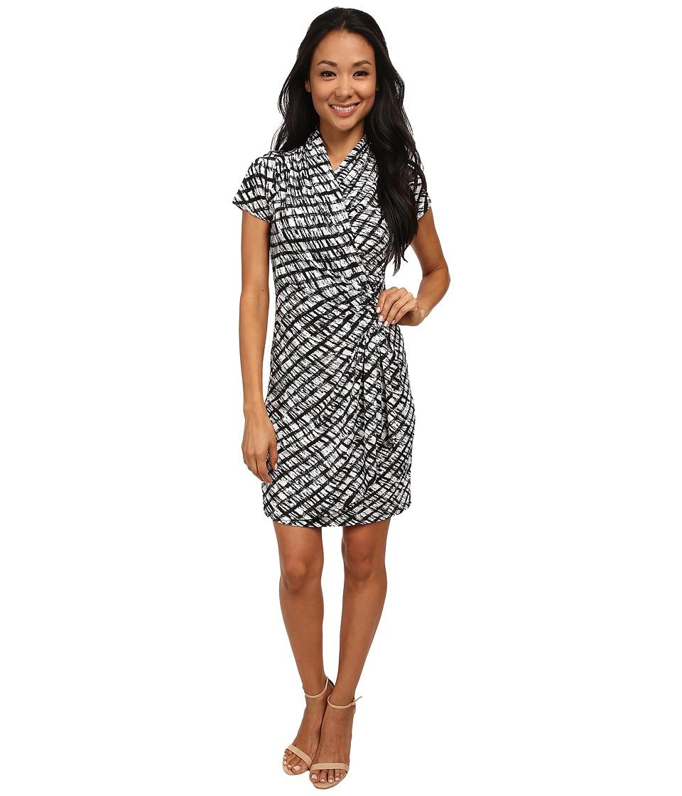 Karen Kane - Cascade Wrap Dress (Print) Women