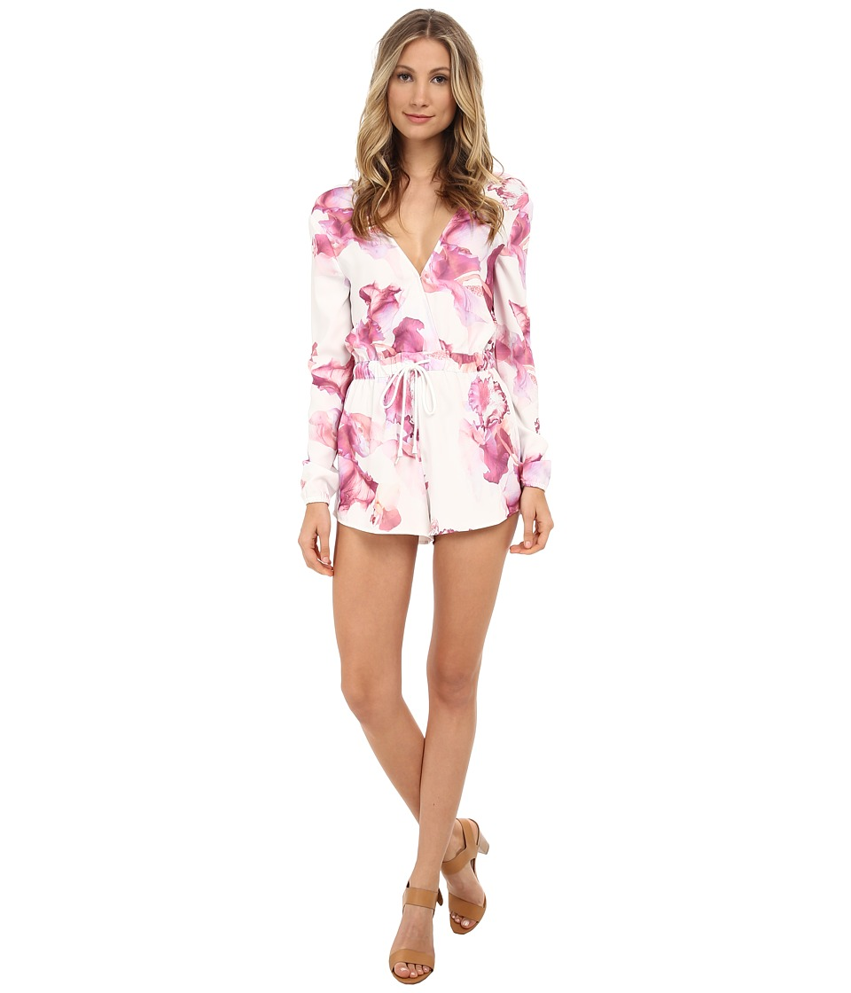 StyleStalker - Mayan Rompers (Floral) Women's Jumpsuit & Rompers One Piece