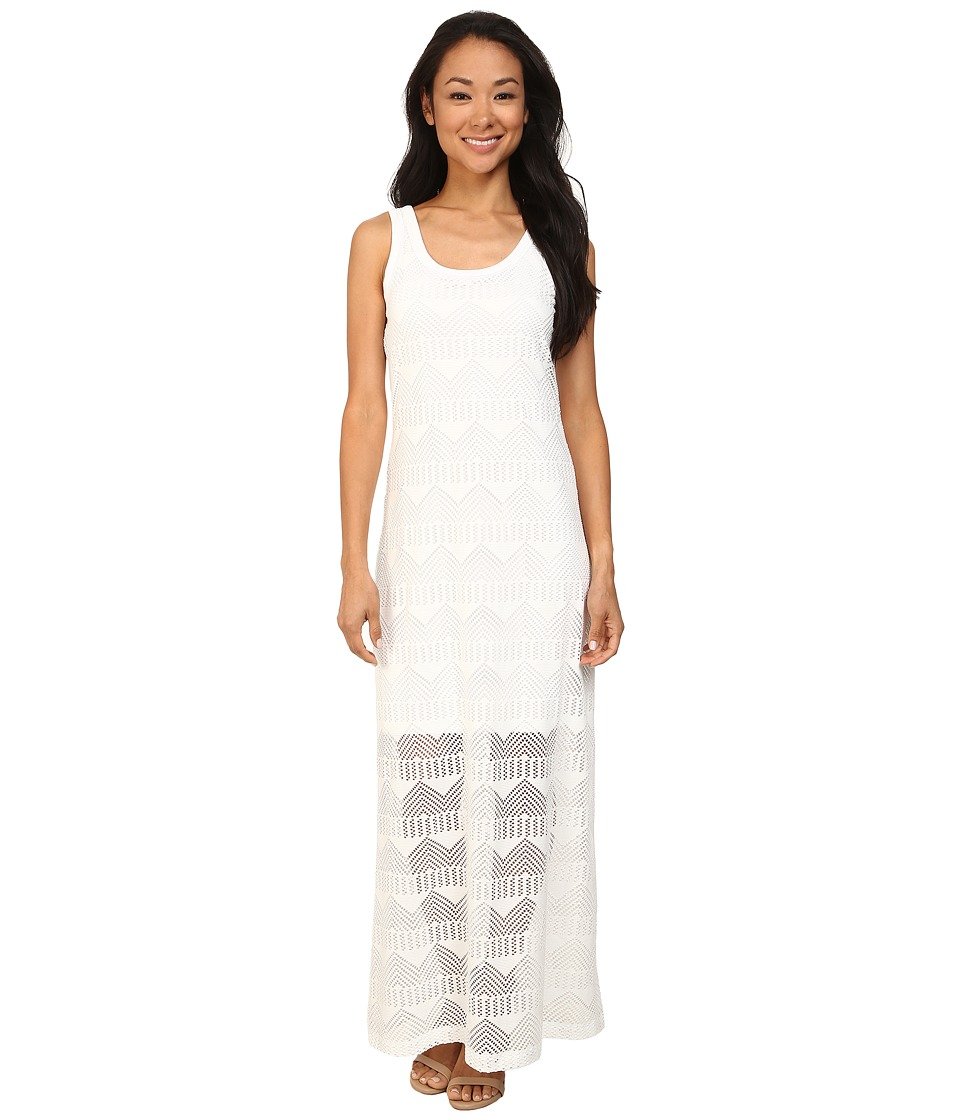 Karen Kane Crochet Maxi Dress (Off White) Women