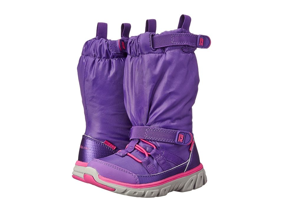Stride Rite - Made 2 Play Sneaker Boot (Toddler/Little Kid) (Purple) Girls Shoes