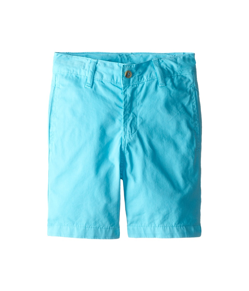 Oscar de la Renta Childrenswear - Cotton Twill Classic Shorts (Toddler/Little Kids/Big Kids) (Dolphin) Boy's Shorts