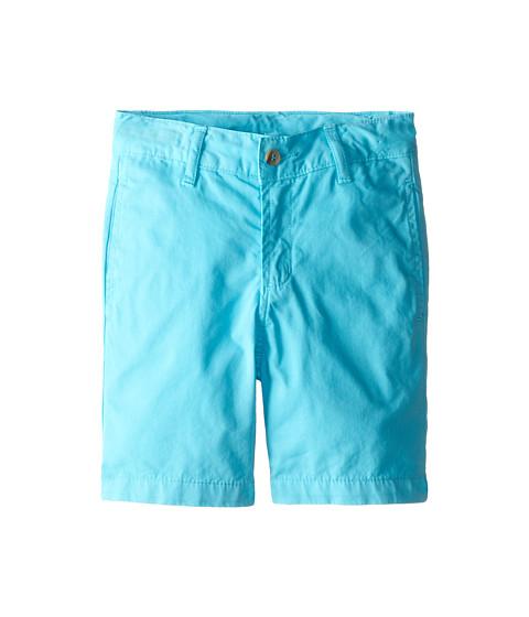 Oscar de la Renta Childrenswear - Cotton Twill Classic Shorts (Toddler/Little Kids/Big Kids) (Dolphin) Boy