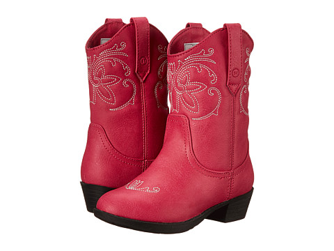 Stride Rite - Molly (Toddler/Little Kid) (Pink) Cowboy Boots