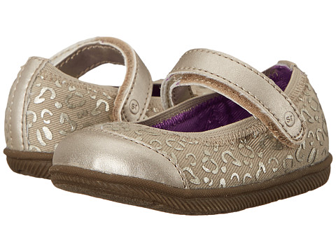 Stride Rite - Cecilia (Infant/Toddler) (Brown/Animal) Girls Shoes