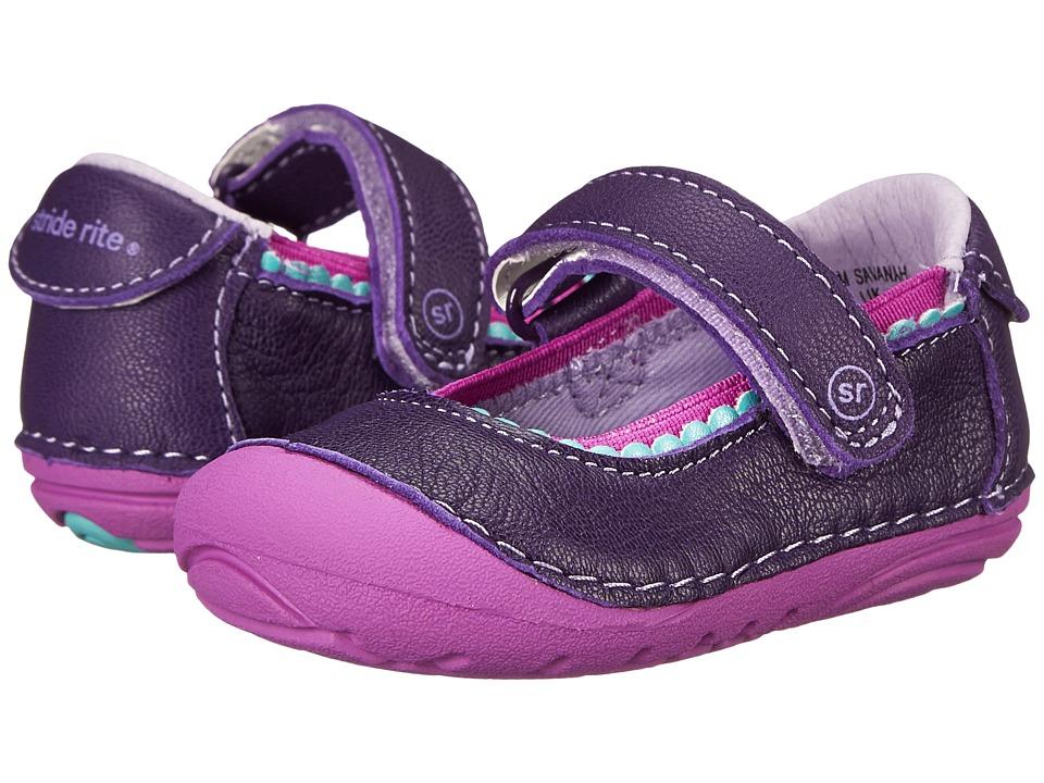 Stride Rite - SRT SM Savanah (Infant/Toddler) (Purple) Girls Shoes