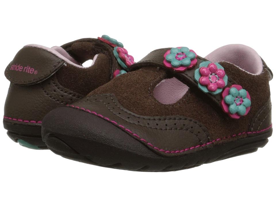 Stride Rite - SM Shiela (Infant/Toddler) (Brown) Girls Shoes