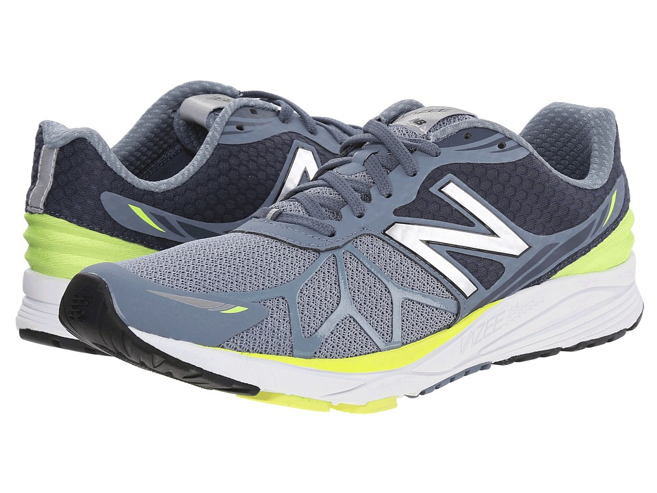New Balance - Vazee Pace (Grey/Yellow) Men's Running Shoes