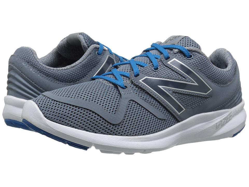 New Balance - Vazee Coast (Grey/Blue) Men's Running Shoes