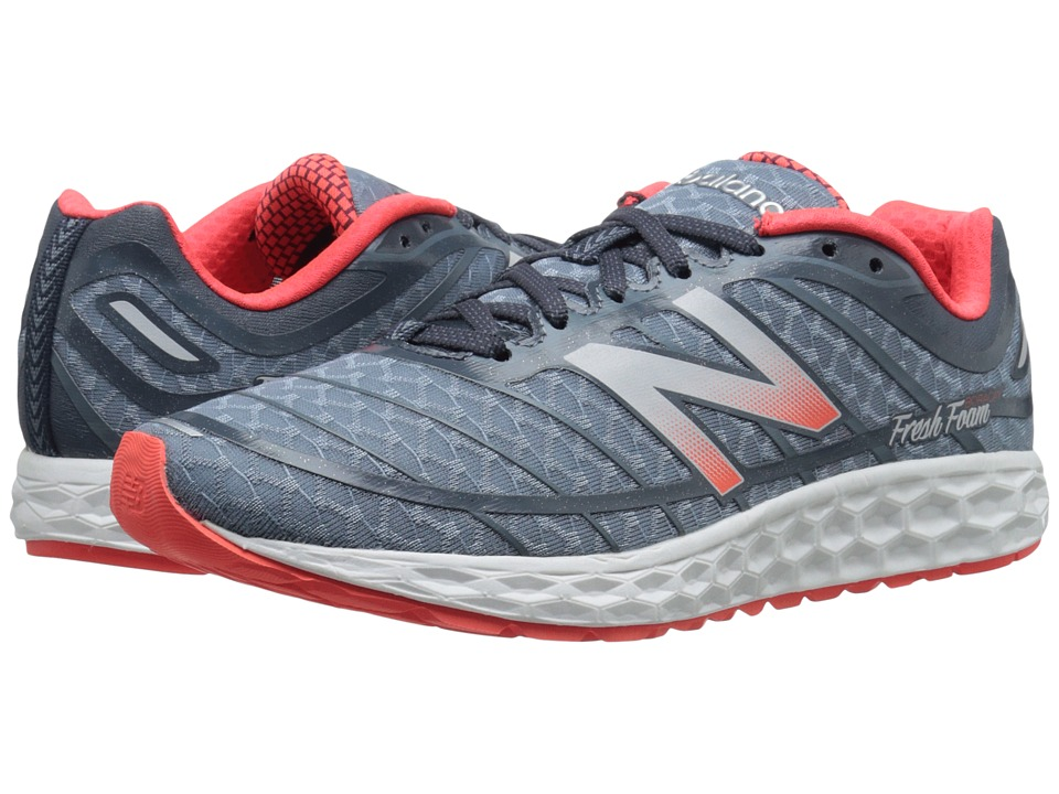 New Balance - Fresh Foam Boracay (Grey/Red) Men's Running Shoes