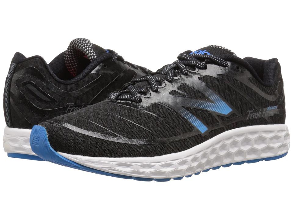 New Balance - Fresh Foam Boracay (Black/Blue 2) Men's Running Shoes