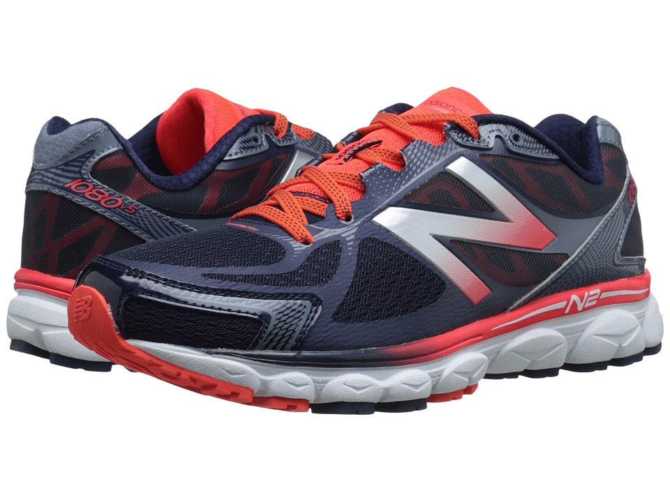New Balance - M1080v5 (Orange/Blue) Men's Running Shoes