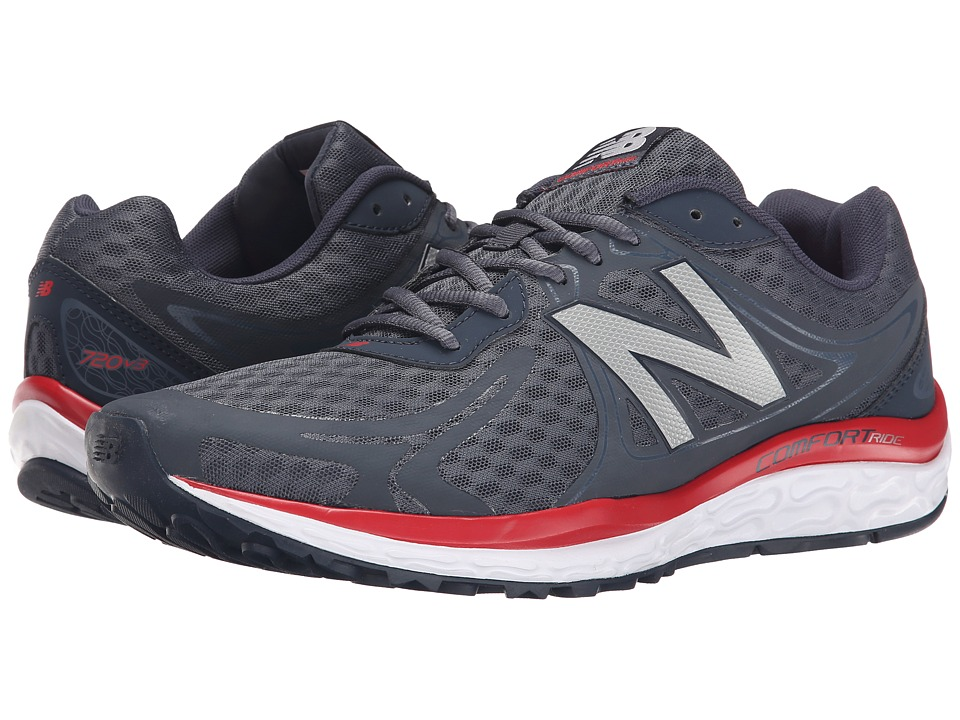 New Balance - M720v3 (Outer Space/Red) Men's Running Shoes