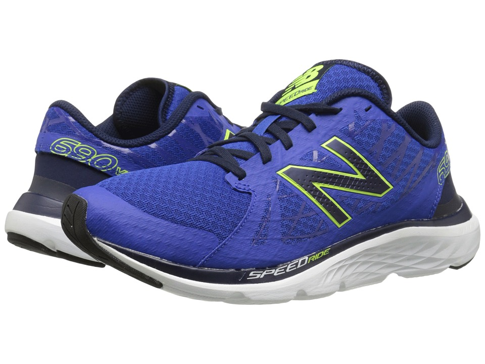 New Balance - M690v4 (Ocean Blue/Hi-Lite) Men's Running Shoes