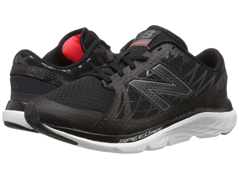 New Balance - M690v4 (Lead/Black) Men's Running Shoes