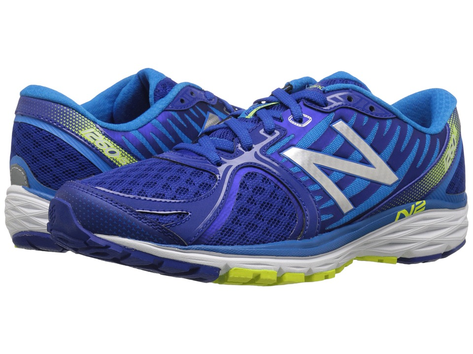 New Balance - M1260v5 (Blue) Men's Running Shoes