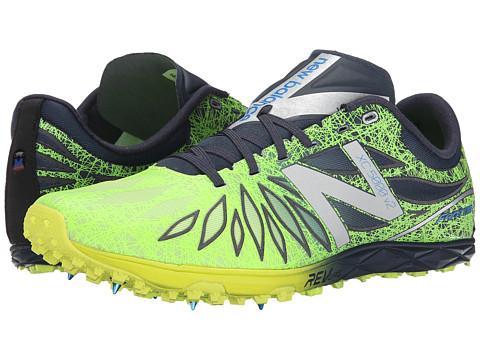 New Balance - MXC5000v2 (Spike) (Hi-Lite/Black) Men's Running Shoes