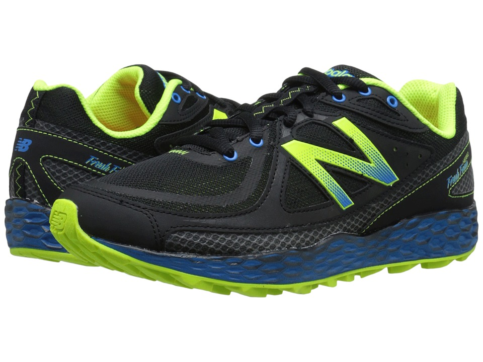 New Balance - Fresh Foam Hierro (Black/Yellow) Men's Running Shoes