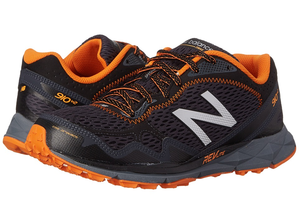 New Balance - MT910v2 (Black/Orange) Men's Running Shoes