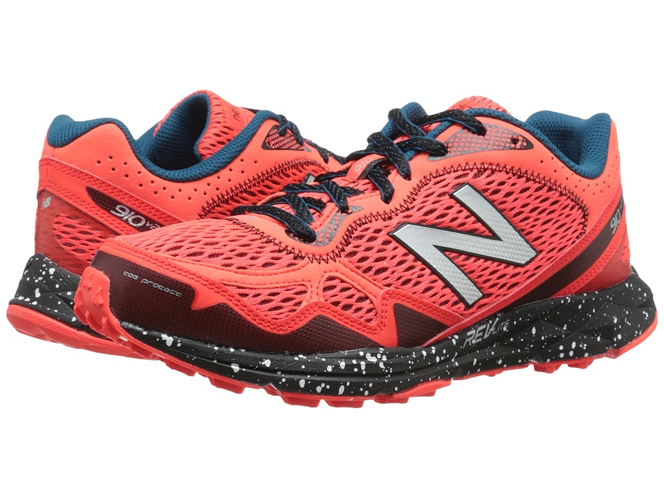 New Balance - MT910v2 (Orange/Black) Men's Running Shoes