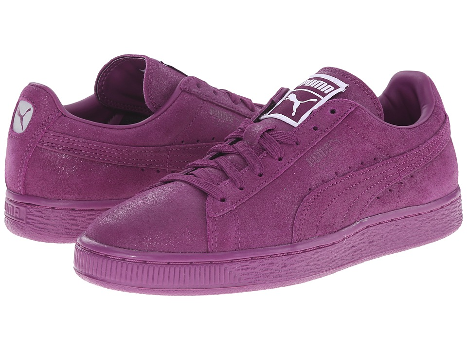 PUMA - Suede Classic Matt Shine (Grape Juice/Grape Juice) Women