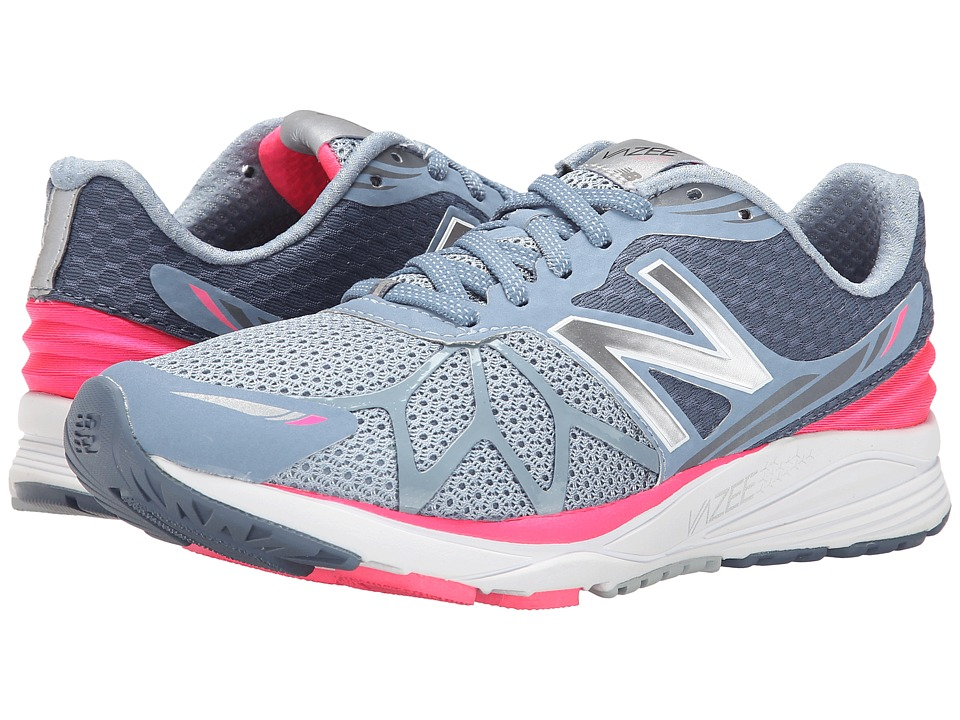 New Balance - Vazee Pace (Grey/Pink) Women's Running Shoes
